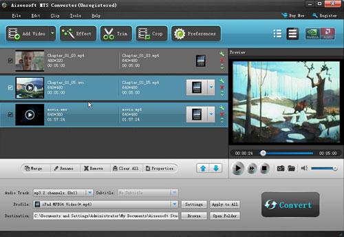 The Fantastic Converter fro TS, MTS, M2TS users Play-mts
